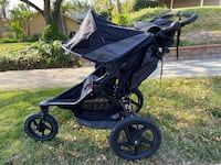 Like New Bob Revolution Flex 2.0 Child Jogging Stroller Jogger Black Los Angeles, 91306