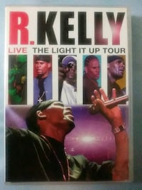 R. Kelly Live The Light it up Tour. 2 disc dvd