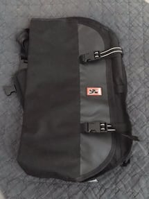 Black Chrome Citizen Messenger Bag, New, Left Shoulder Strap