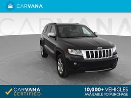 2013 Jeep Grand Cherokee suv Limited Sport Utility 4D Black