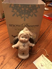 Snow babies Dream an angel to guide us ornament. Newark, 19702
