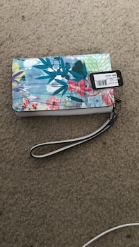blue, pink, and white floral wristlet Deerfield Beach, 33442