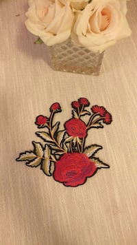 Embroidery patche Lakewood
