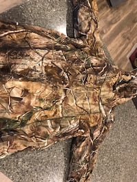 Scentlok thundertek jacket with scent bag. Size Large North Liberty, 52317