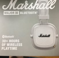Marshal Bluetooth headphones.