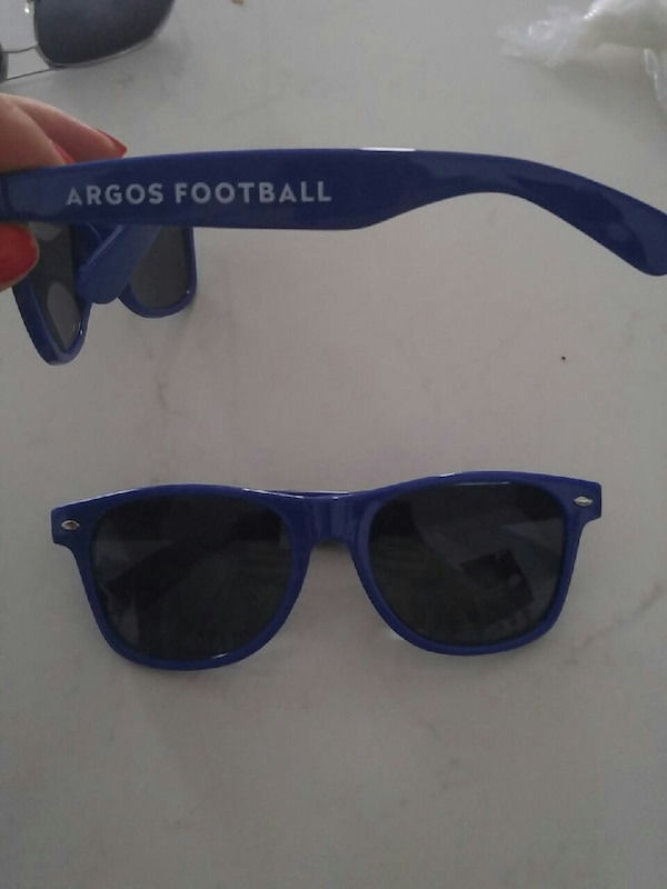 fbb5b44473e Used blue Argos Football sunglasses for sale in Toronto - letgo