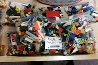 assorted-color interlocking block toy lot Nanaimo, V9R 2T2