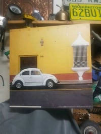 white Volkswagen Beetle photo wall decor Surrey, V4P 1Z8