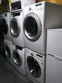 LG 27in wide washer and dryer set
