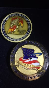 1947 US Air Force challenge coins Isleton, 95641