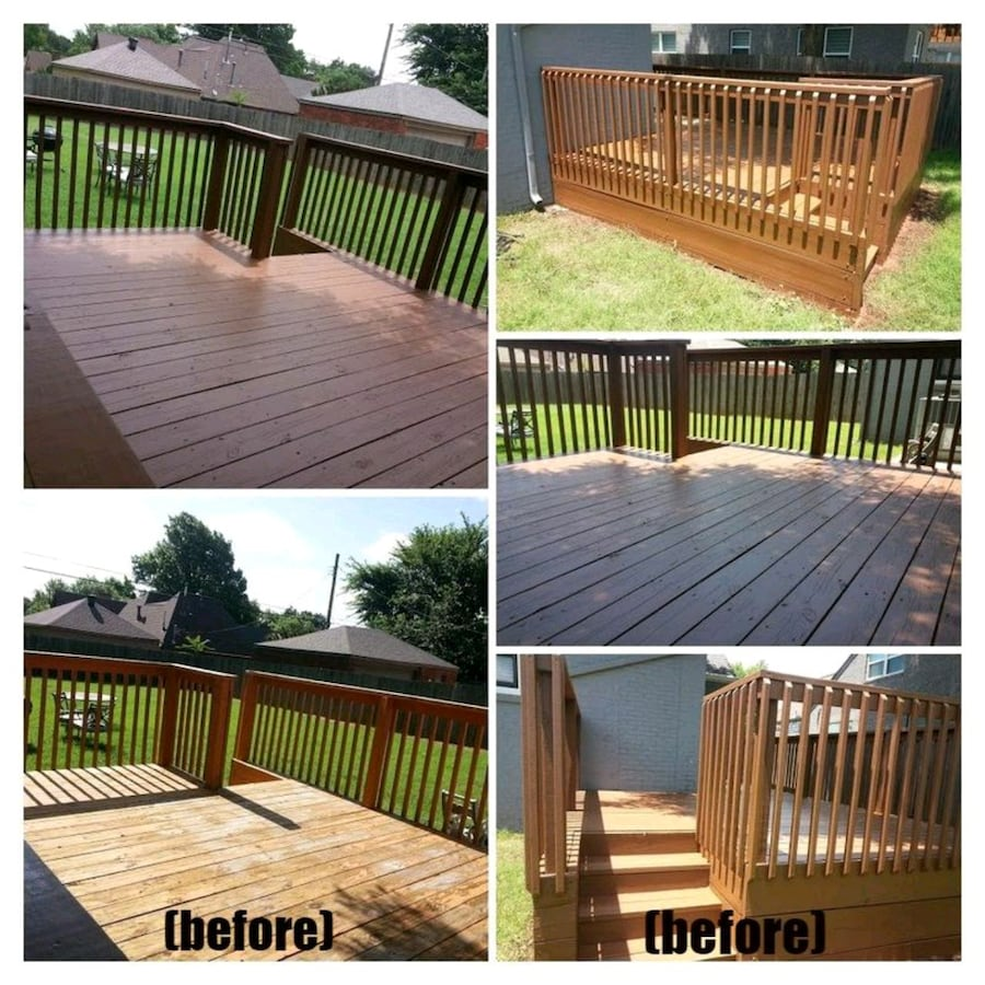 Deck Repair and painting services