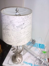 white and gray table lamp Edmonton, T5A 4N4
