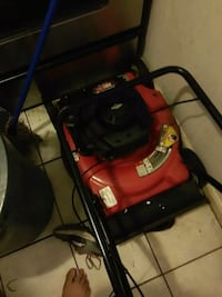 black and red push mower Fort Lauderdale, 33312