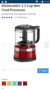 red and gray power juicer CALGARY