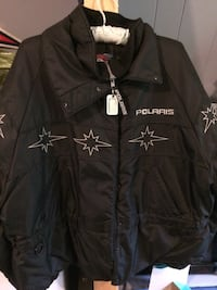 Black Polaris Snowmobile Jacket Spencer, 01562