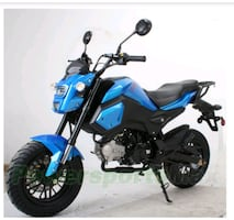 NEW 125cc Motorcycle STREET LEGAL Electric start SHIPPED TO YOU