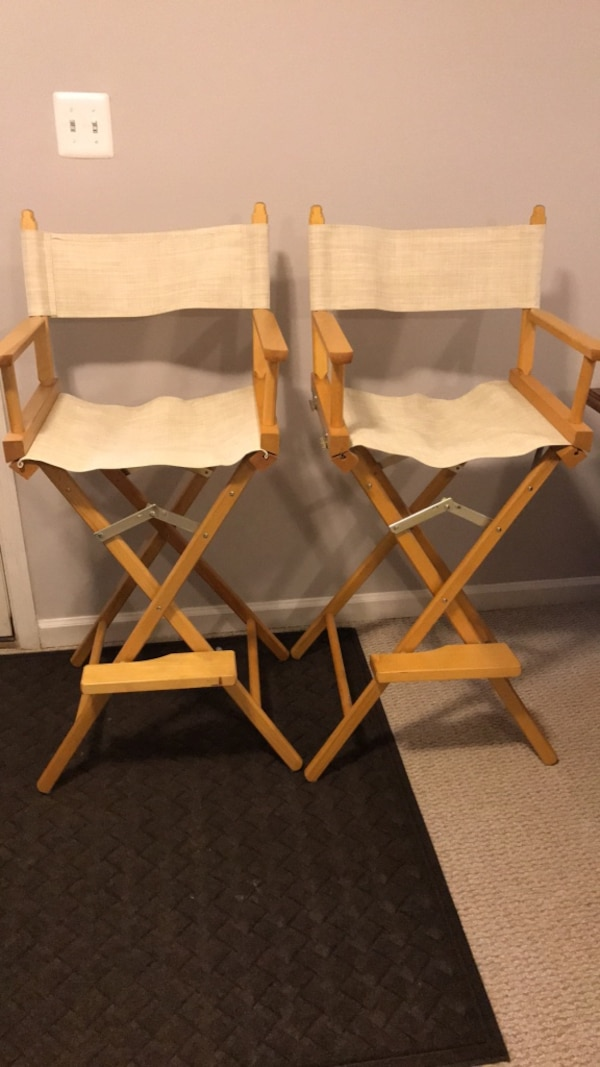 Set of Director's Chairs