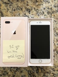 Gold iphone 6s Plus with box- negotiable Oceanside, 92057