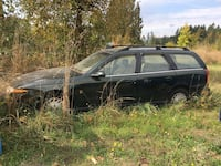 2000 Saturn v-6 wagon part out Centralia, 98531