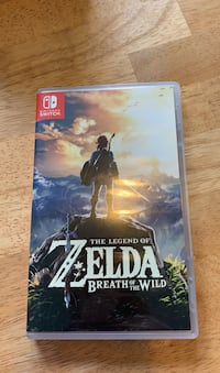 The legend of Zelda Breath of the Wild for Nintendo Switch Annapolis, 21409