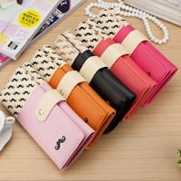 Five assorted leather wristlets