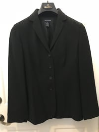 Woman's 6 Ann Taylor black striped suit and skirt Coconut Creek, 33073