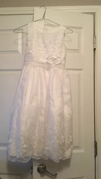 Flower girl dress size 8 San Juan, 78589