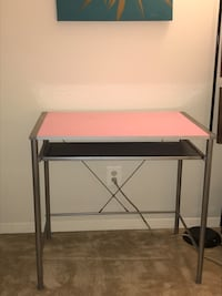 Desk reversible top(blue or pink) Falls Church, 22043