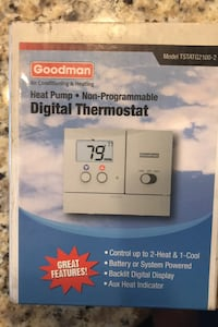 Digital thermostat Fort Washington, 20744