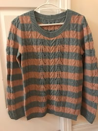 Vintage sweater ( stone blue with pink) Toronto, M2N