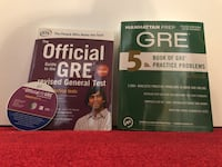 GRE Study and prep books. Los Angeles, 90027