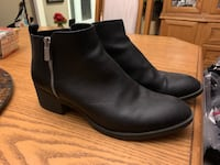 BLACK LEATHER KENNETH COLE BOOTIES North Dumfries, N0B 1E0