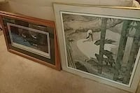 two beautifully framed prints Richmond, 23228