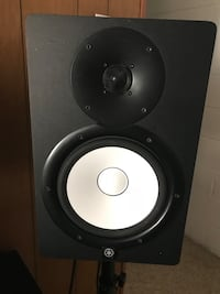 black and gray subwoofer speaker Woodbridge, 22191