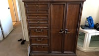 brown wooden cabinet with drawer La Quinta, 92203