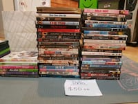 Movie DVDs All for  $40 Vancouver, V5P
