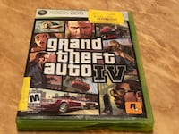 XBOX 360  GRAND THEFT AUTO IV Haverhill, 01832