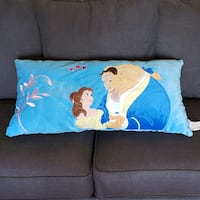Beauty and The Beast Throw Pillow Middlesex, 08846