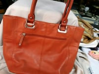 women's brown leather tote bag Akron, 44312