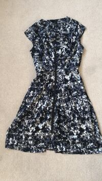 black and white floral sleeveless dress Whitby, L1R 3P4