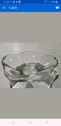 Daum France Crystal - Art Bowl Or Ashtray mint con