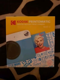 Kodak digital print Camera