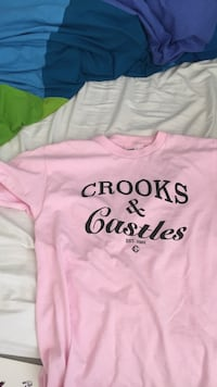Crooks and castles shirt