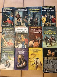 THE HARDY BOYS SERIES BOOKS, Lot of 12 Books, Copyright from 1970's Baltimore, 21236