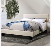 King size bed with mattress Victorville, 92395