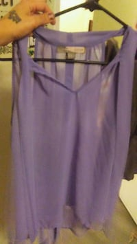 women's purple sleeveless top Vancouver, V5K 2A9
