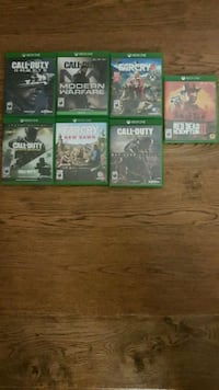 Xbox 1 games Cambridge, N1R