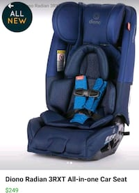 blue and black car seat 60 km