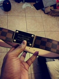 black and brown Louis Vuitton belt Hyattsville, 20781