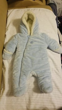 Absorba baby snowsuit 3/6M